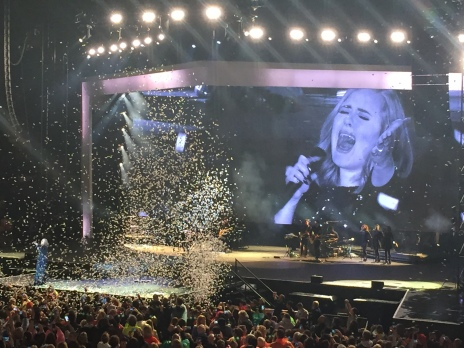 Adele concert in Verona di Arena, Italy